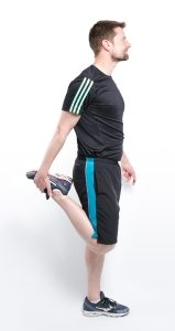 Skiing Physiotherapy Swindon - Quad Stretch