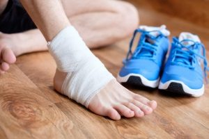 Marathon Running Injury
