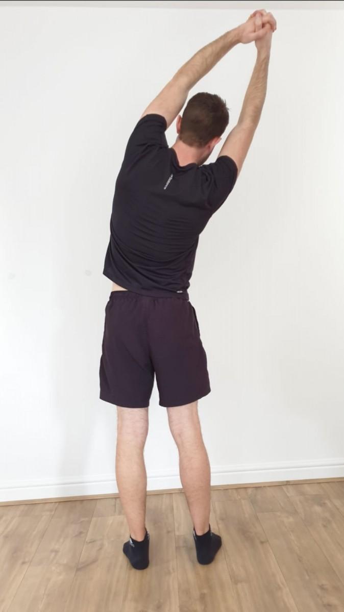 Back Pain Swindon Half Moon Stretch