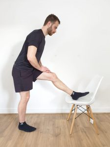 Knee Pain Swindon Hamstring Stretch