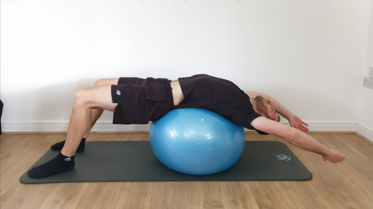 Back Pain Swindon Lumbar Extension Stretch