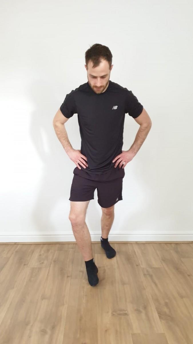 Running Swindon Peroneals Stretch