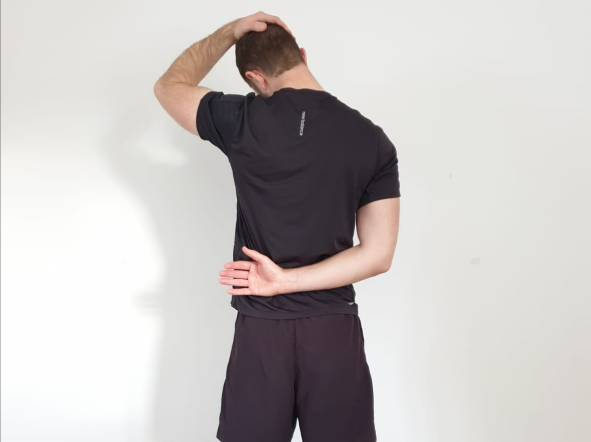 Neck Stretch Sports Physio RSI